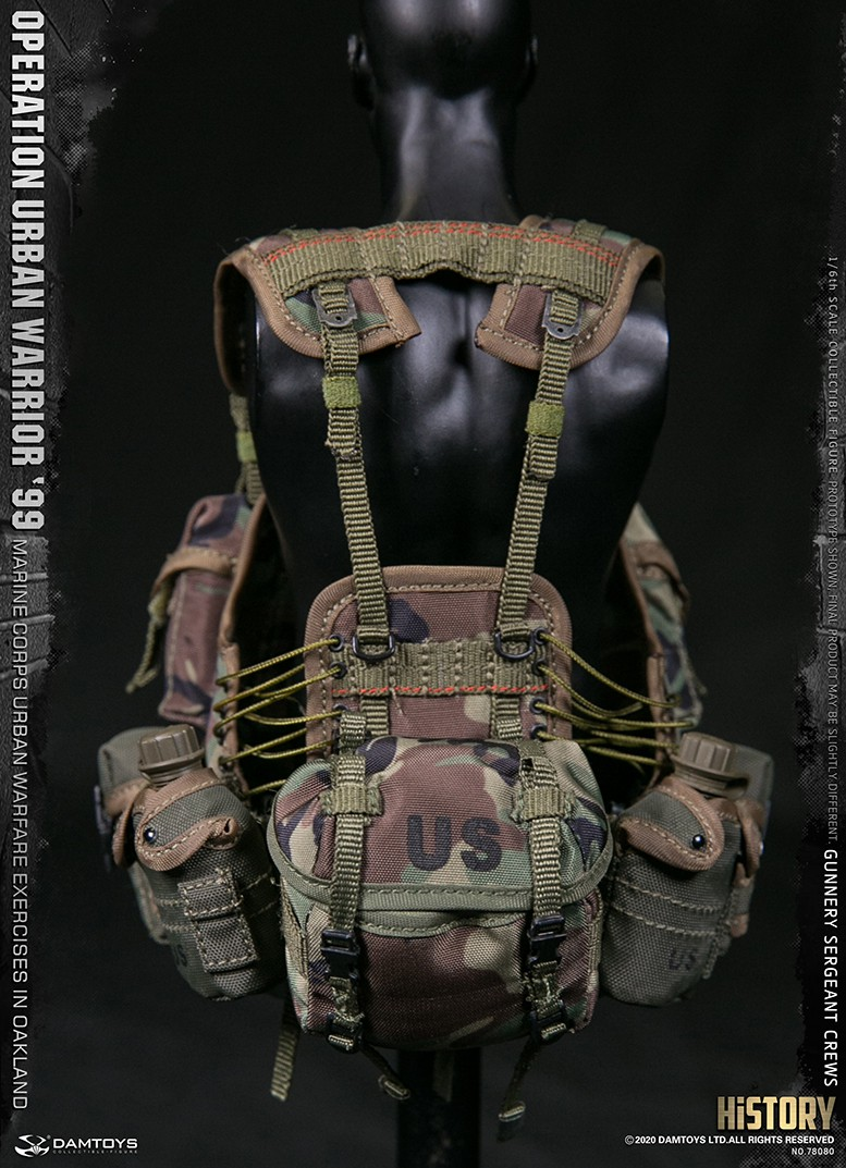 modernmilitary - NEW PRODUCT: DAMTOYS: 1/6 '99 City Warriors Operation-Marine Corps Oakland City Battle Exercise-Gunner Sergeant Cruise #78080 18481911