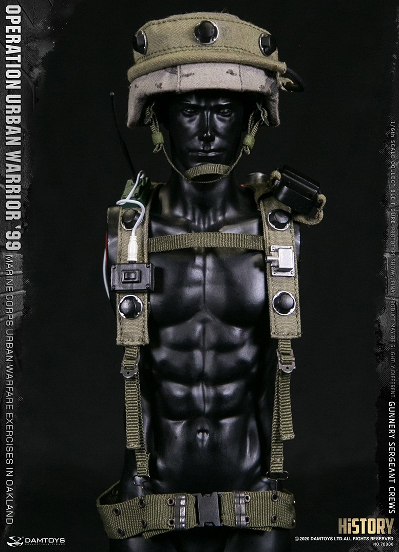 modernmilitary - NEW PRODUCT: DAMTOYS: 1/6 '99 City Warriors Operation-Marine Corps Oakland City Battle Exercise-Gunner Sergeant Cruise #78080 18482410