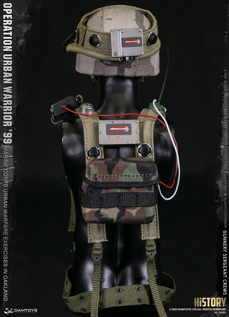 modernmilitary - NEW PRODUCT: DAMTOYS: 1/6 '99 City Warriors Operation-Marine Corps Oakland City Battle Exercise-Gunner Sergeant Cruise #78080 18482510