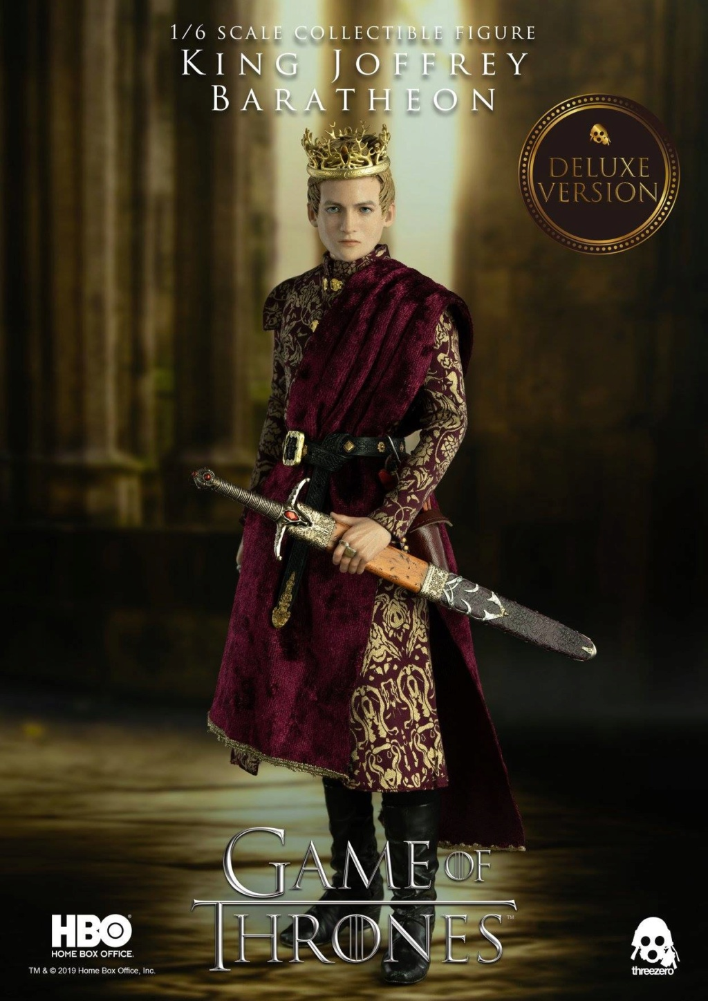 TVShow - NEW PRODUCT: ThreeZero: 1/6 scale Game of Thrones – King Joffrey Baratheon (Standard edition) & (Deluxe Edition) (UPDATED) 18483510