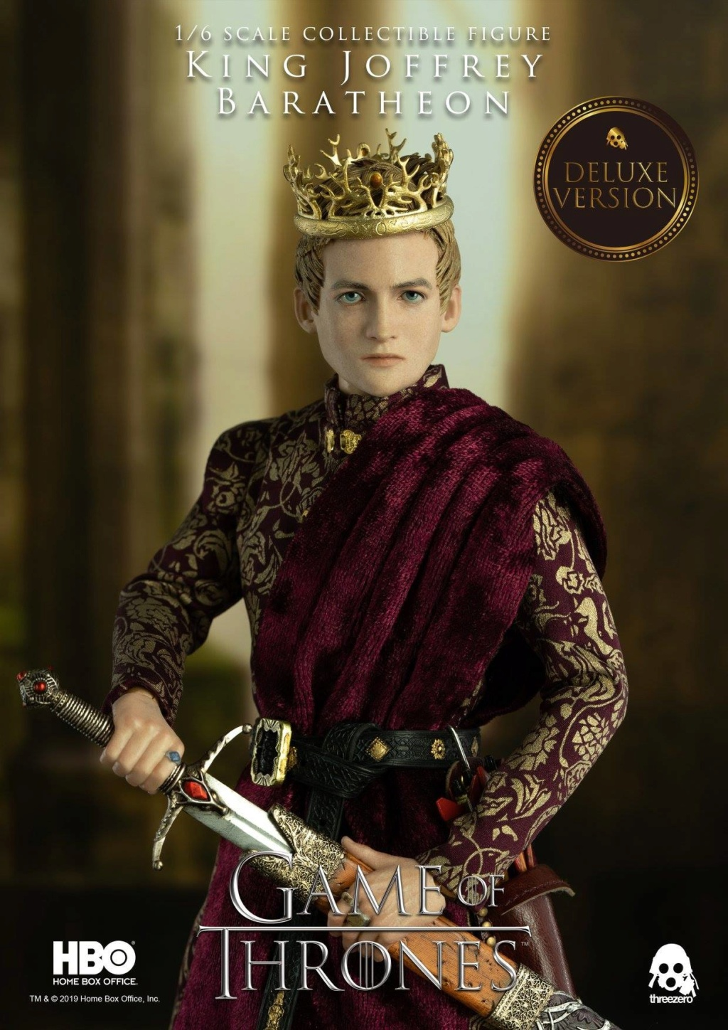 TVShow - NEW PRODUCT: ThreeZero: 1/6 scale Game of Thrones – King Joffrey Baratheon (Standard edition) & (Deluxe Edition) (UPDATED) 18483610