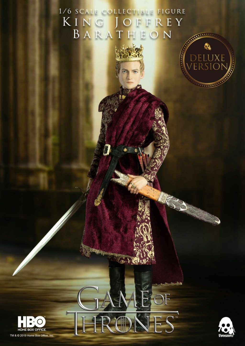 TVShow - NEW PRODUCT: ThreeZero: 1/6 scale Game of Thrones – King Joffrey Baratheon (Standard edition) & (Deluxe Edition) (UPDATED) 18483710