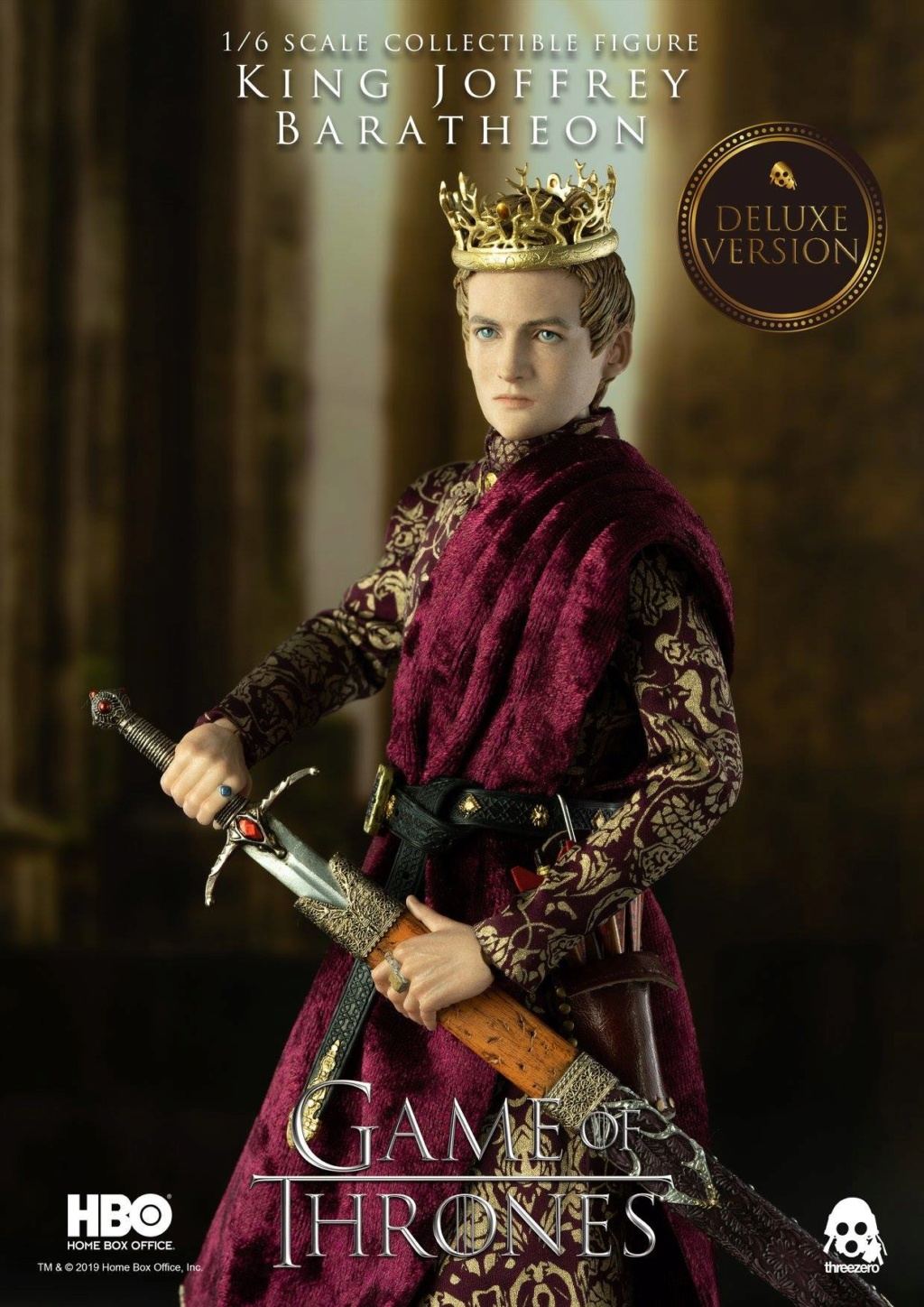 TVShow - NEW PRODUCT: ThreeZero: 1/6 scale Game of Thrones – King Joffrey Baratheon (Standard edition) & (Deluxe Edition) (UPDATED) 18483910