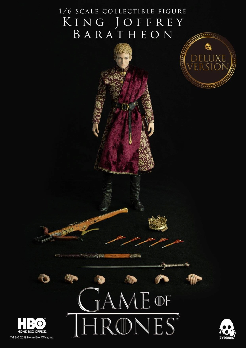 TVShow - NEW PRODUCT: ThreeZero: 1/6 scale Game of Thrones – King Joffrey Baratheon (Standard edition) & (Deluxe Edition) (UPDATED) 18484110