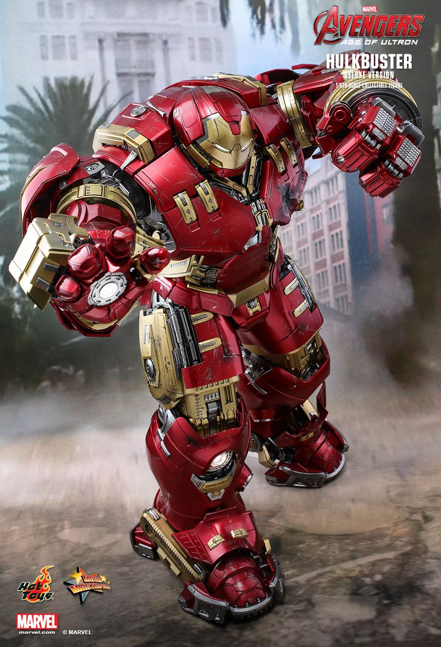 NEW PRODUCT: HOT TOYS: AVENGERS: AGE OF ULTRON HULKBUSTER (DELUXE VERSION) 1/6TH SCALE COLLECTIBLE FIGURE 185