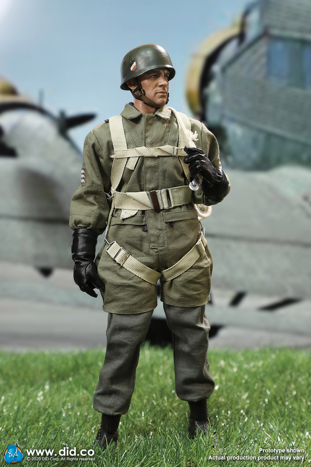 did - NEW PRODUCT: DID: 1/6 World War II Paratrooper Green Devil-Schmeling (# D80146) 18520910