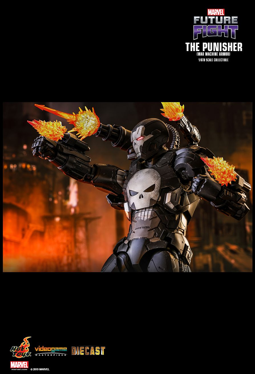 Videogame - NEW PRODUCT: HOT TOYS: MARVEL FUTURE FIGHT THE PUNISHER (WAR MACHINE ARMOR) 1/6TH SCALE COLLECTIBLE FIGURE 1857