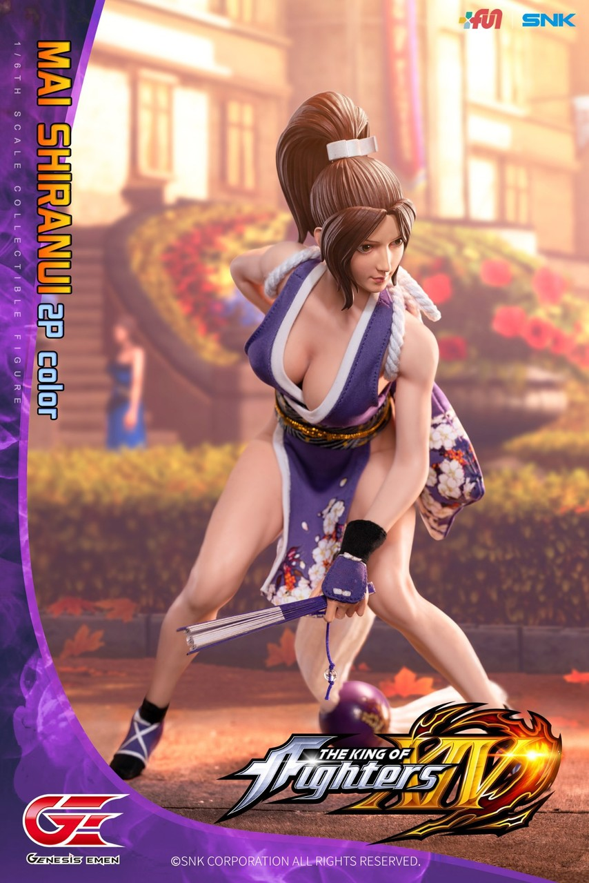 NEW PRODUCT: GENESIS EMEN: THE KING OF FIGHTERS XIV - MAI SHIRANUI 2.0 (2P COLOR) 1/6 SCALE ACTION FIGURE 18584810