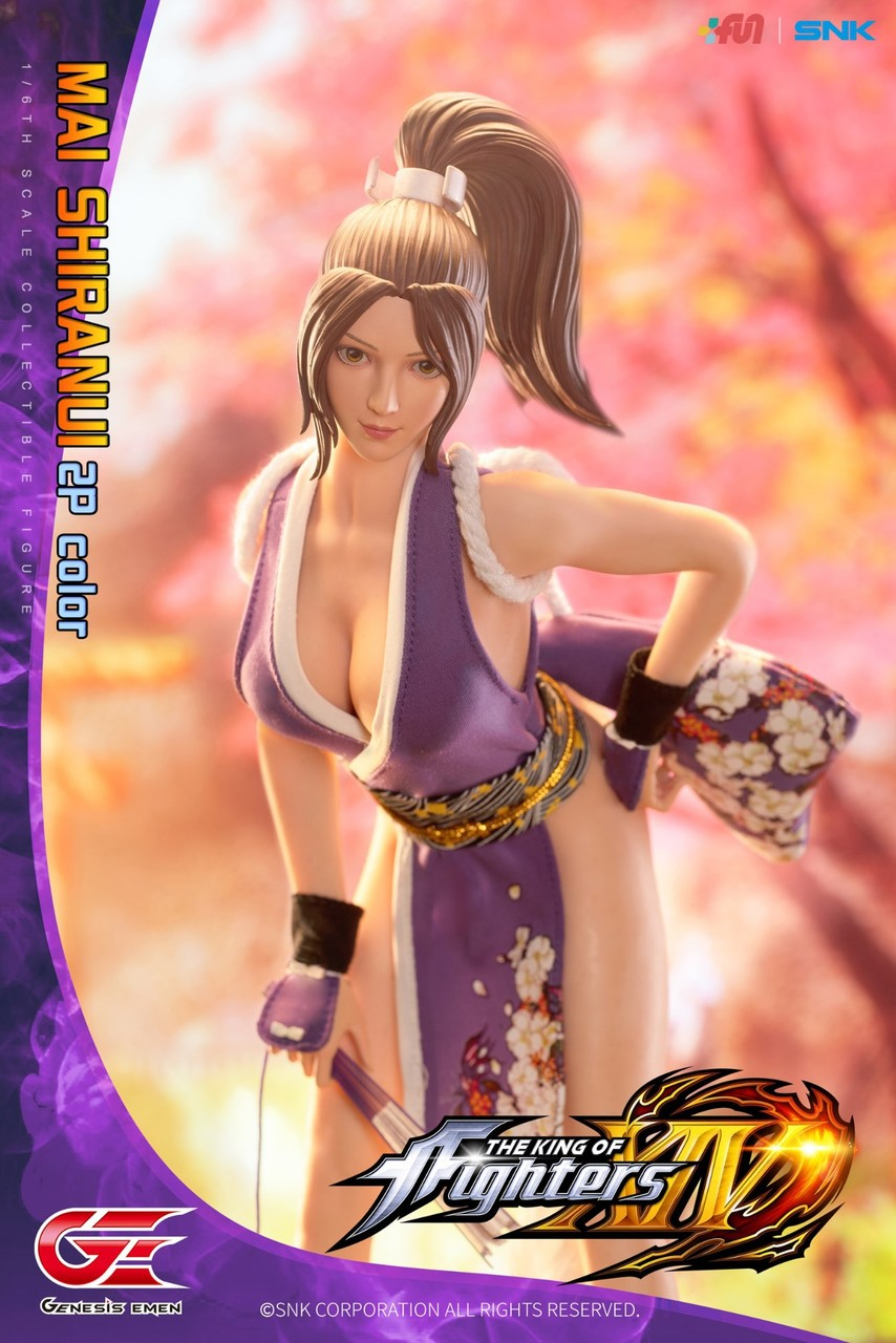 NEW PRODUCT: GENESIS EMEN: THE KING OF FIGHTERS XIV - MAI SHIRANUI 2.0 (2P COLOR) 1/6 SCALE ACTION FIGURE 18585010