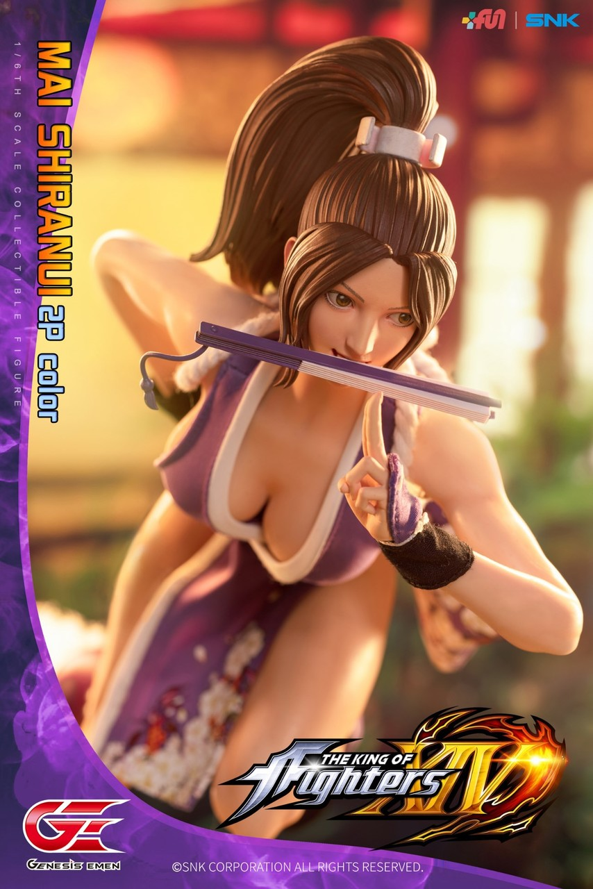 NEW PRODUCT: GENESIS EMEN: THE KING OF FIGHTERS XIV - MAI SHIRANUI 2.0 (2P COLOR) 1/6 SCALE ACTION FIGURE 18585810
