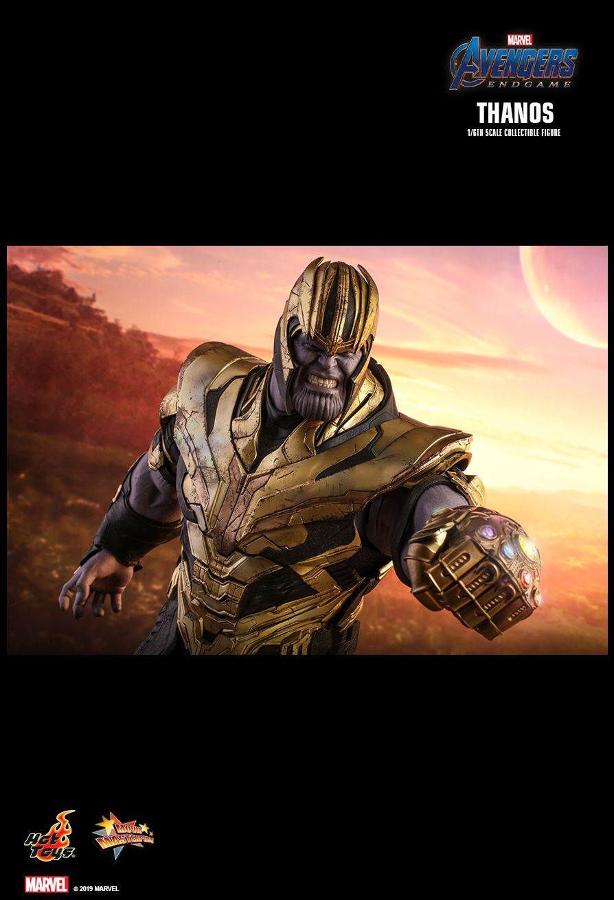 Thanos - NEW PRODUCT: HOT TOYS: AVENGERS: ENDGAME THANOS 1/6TH SCALE COLLECTIBLE FIGURE 1873