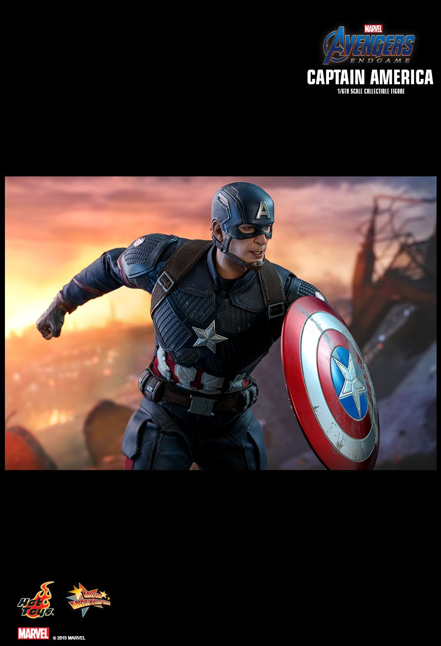 captainamerica - NEW PRODUCT: HOT TOYS: AVENGERS: ENDGAME CAPTAIN AMERICA 1/6TH SCALE COLLECTIBLE FIGURE 1879