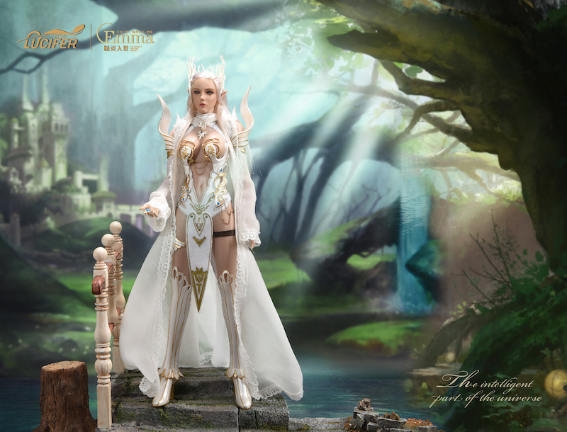 fantasy - NEW PRODUCT: [LXF-1904B] Elf Queen Emma Queen Version 1:6 Figure by Lucifer 1886