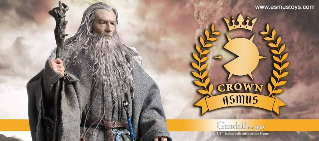 NEW PRODUCT: ASMUS TOYS THE CROWN SERIES : GANDALF THE GREY 1/6 figure 1889