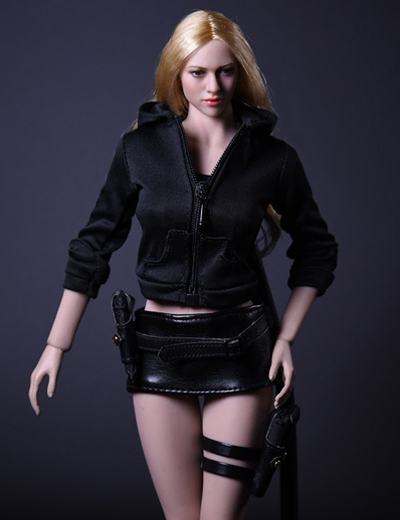 NEW PRODUCT: 1/6 Female Assassin Clothing Set by VS Toys (2 styles) 1892