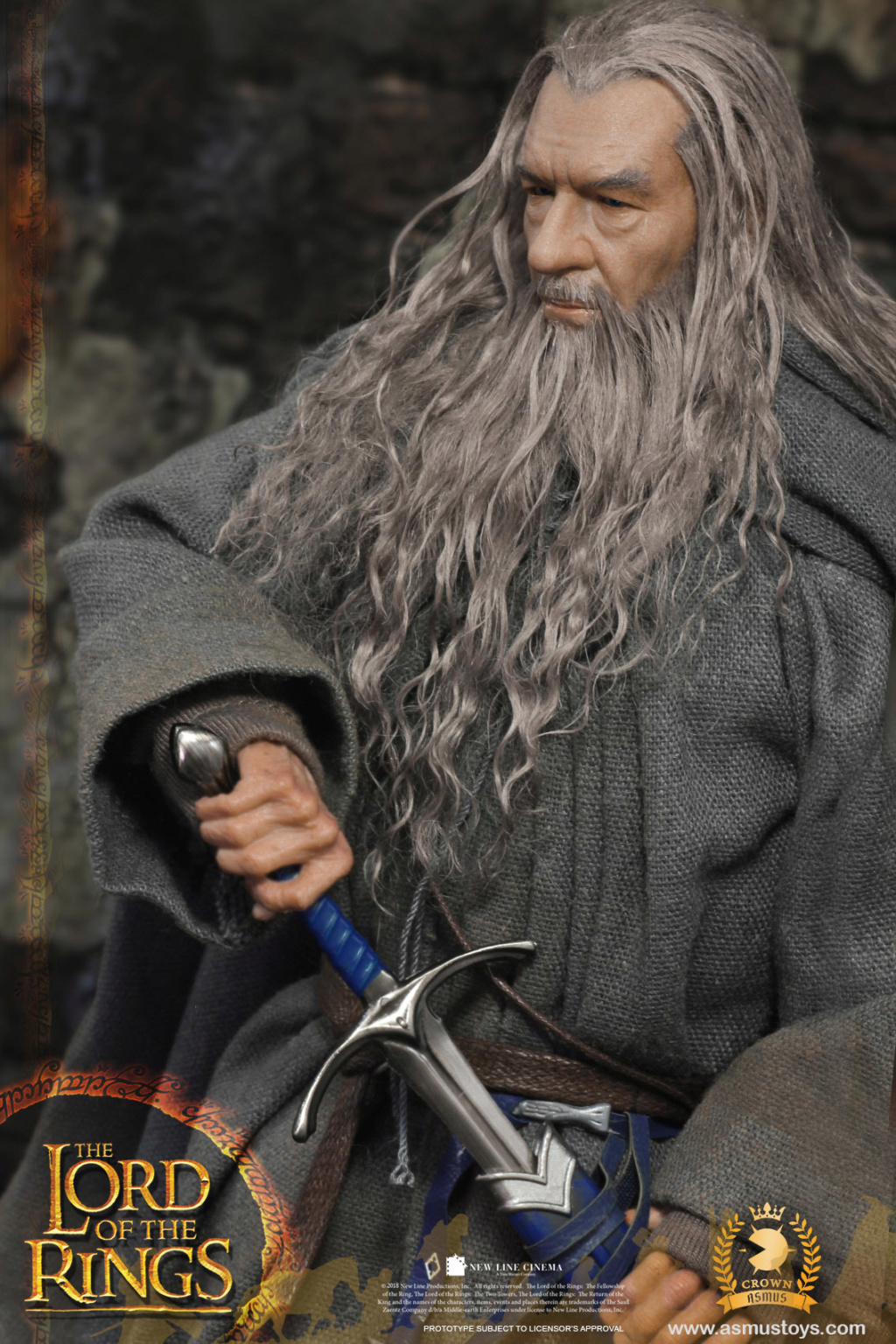NEW PRODUCT: ASMUS TOYS THE CROWN SERIES : GANDALF THE GREY 1/6 figure 1897