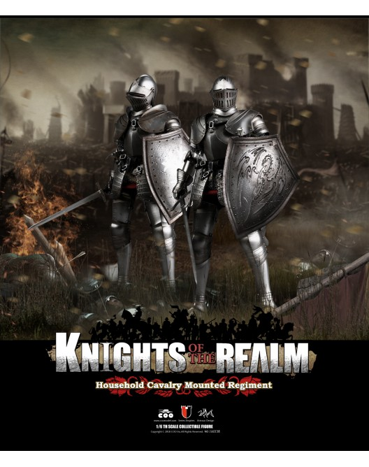 KnightsoftheRealm - NEW PRODUCT: CooModel: Knights of the Realm: Kingsguard (SE036), Famiglia Ducale (SE037) & Double Figure Set (SE038) 19003210