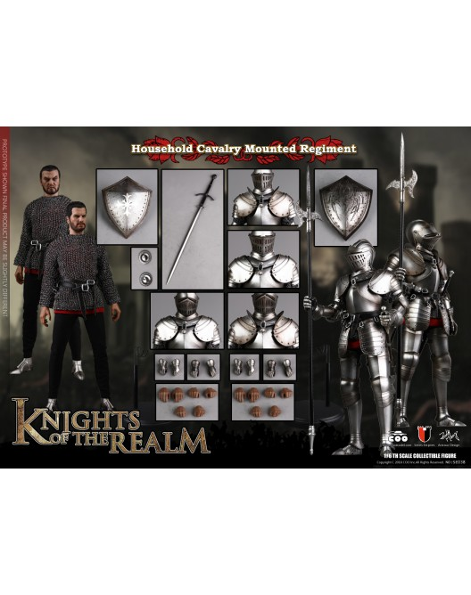 KnightsoftheRealm - NEW PRODUCT: CooModel: Knights of the Realm: Kingsguard (SE036), Famiglia Ducale (SE037) & Double Figure Set (SE038) 19004310