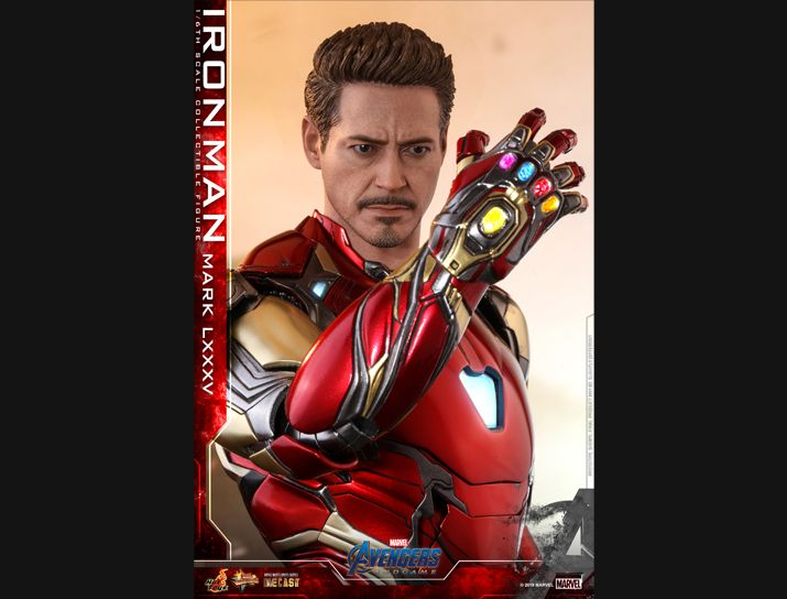 NEW PRODUCT: HOT TOYS: AVENGERS: ENDGAME IRON MAN MARK LXXXV 1/6TH SCALE COLLECTIBLE FIGURE 1903