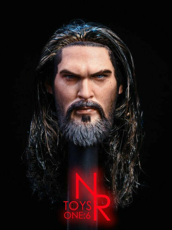 NEW PRODUCT: NRTOYS: NR23 1/6 scale Sea Prince Jason Momoa Head Sculpt HW/O Neck 1904