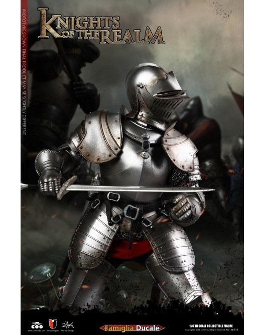 KnightsoftheRealm - NEW PRODUCT: CooModel: Knights of the Realm: Kingsguard (SE036), Famiglia Ducale (SE037) & Double Figure Set (SE038) 19043410