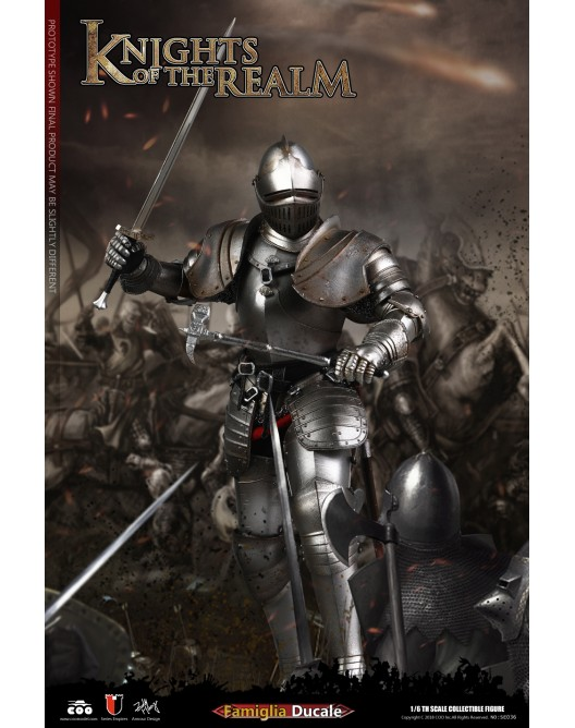 KnightsoftheRealm - NEW PRODUCT: CooModel: Knights of the Realm: Kingsguard (SE036), Famiglia Ducale (SE037) & Double Figure Set (SE038) 19043610