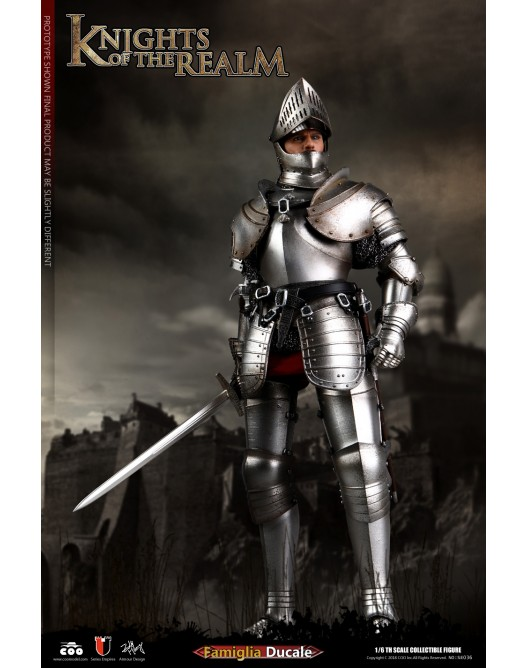 KnightsoftheRealm - NEW PRODUCT: CooModel: Knights of the Realm: Kingsguard (SE036), Famiglia Ducale (SE037) & Double Figure Set (SE038) 19043711