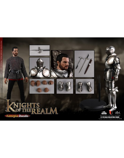 KnightsoftheRealm - NEW PRODUCT: CooModel: Knights of the Realm: Kingsguard (SE036), Famiglia Ducale (SE037) & Double Figure Set (SE038) 19044110