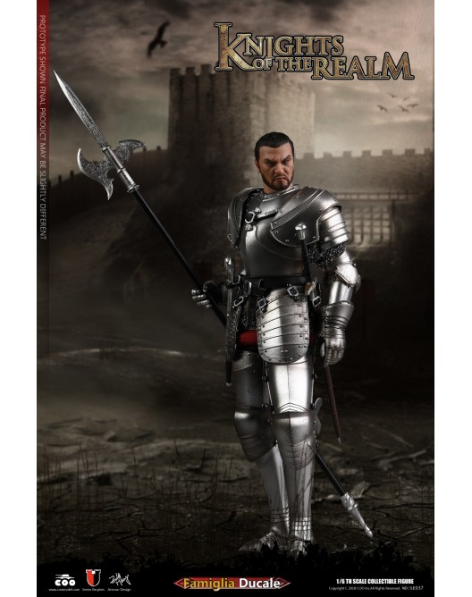KnightsoftheRealm - NEW PRODUCT: CooModel: Knights of the Realm: Kingsguard (SE036), Famiglia Ducale (SE037) & Double Figure Set (SE038) 19054710