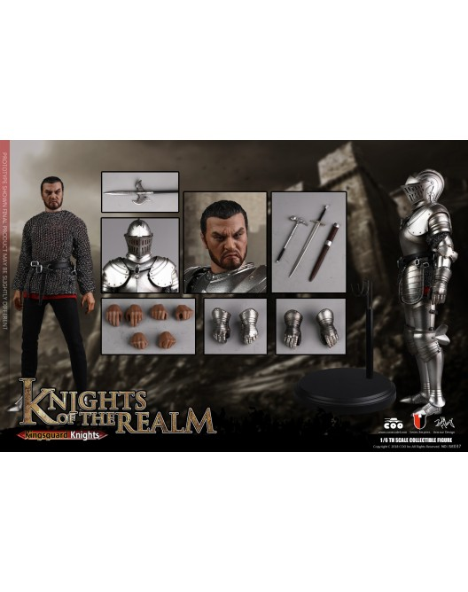 KnightsoftheRealm - NEW PRODUCT: CooModel: Knights of the Realm: Kingsguard (SE036), Famiglia Ducale (SE037) & Double Figure Set (SE038) 19055010