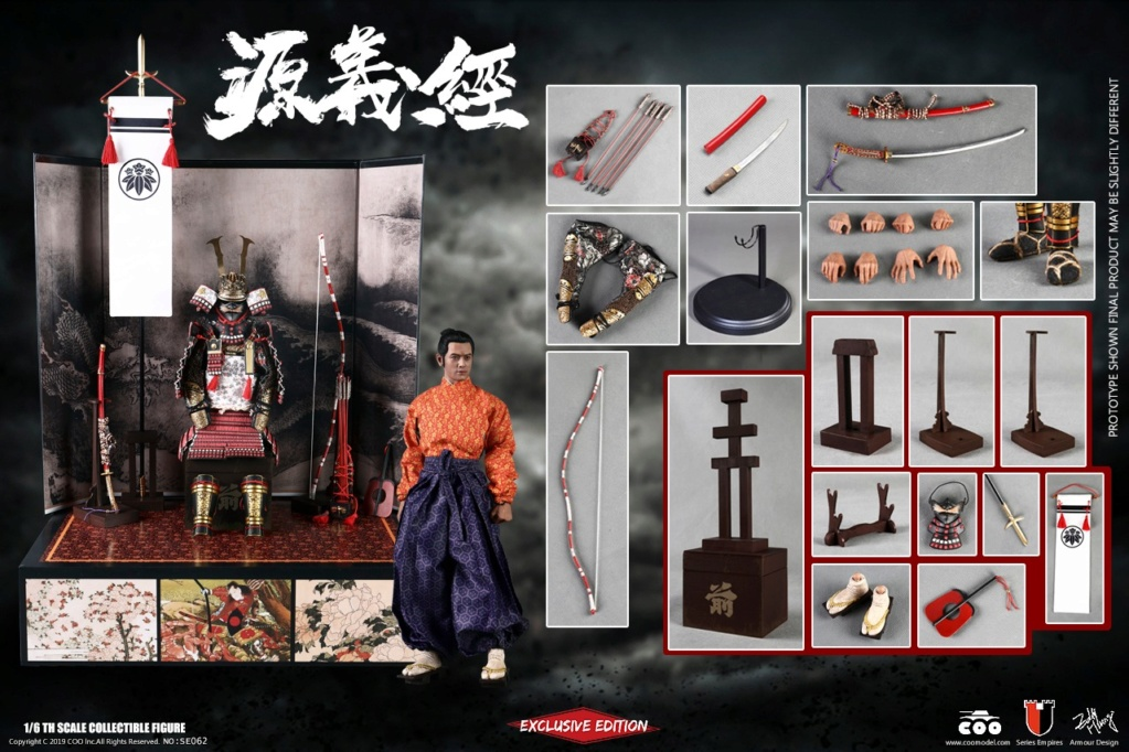 coomodel - NEW PRODUCT: COOMODEL: 1/6 Empire Series Die Casting-Zana Wang Yuan Yi Jing Standard & Collector's Edition 19055310