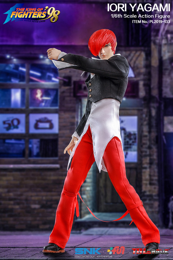 "Stylized - NEW PRODUCT: TBLeague: 1/6 ""King of Fighters KOF 98"" - IORI YAGAMI / Eight Gods (#PL2019-133) 19100910"