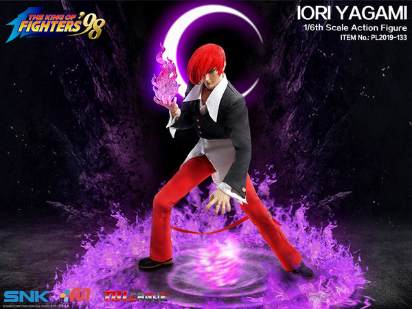 "Stylized - NEW PRODUCT: TBLeague: 1/6 ""King of Fighters KOF 98"" - IORI YAGAMI / Eight Gods (#PL2019-133) 19101310"