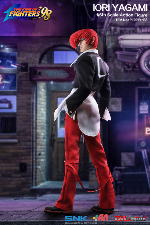 "Stylized - NEW PRODUCT: TBLeague: 1/6 ""King of Fighters KOF 98"" - IORI YAGAMI / Eight Gods (#PL2019-133) 19101611"