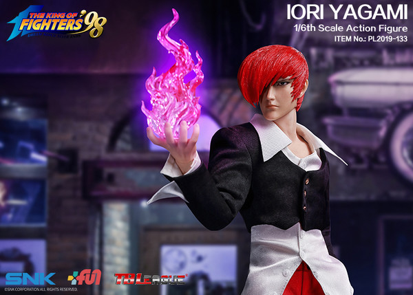 "Stylized - NEW PRODUCT: TBLeague: 1/6 ""King of Fighters KOF 98"" - IORI YAGAMI / Eight Gods (#PL2019-133) 19102510"