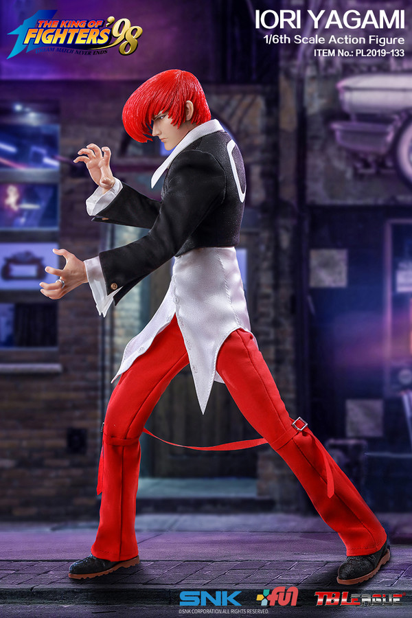 "Stylized - NEW PRODUCT: TBLeague: 1/6 ""King of Fighters KOF 98"" - IORI YAGAMI / Eight Gods (#PL2019-133) 19102910"