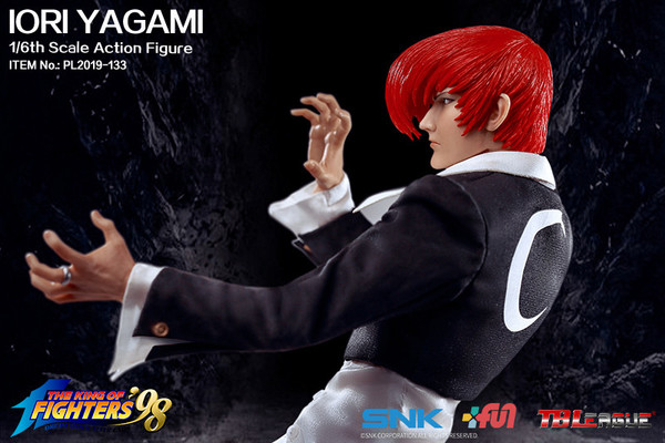 "Stylized - NEW PRODUCT: TBLeague: 1/6 ""King of Fighters KOF 98"" - IORI YAGAMI / Eight Gods (#PL2019-133) 19103410"