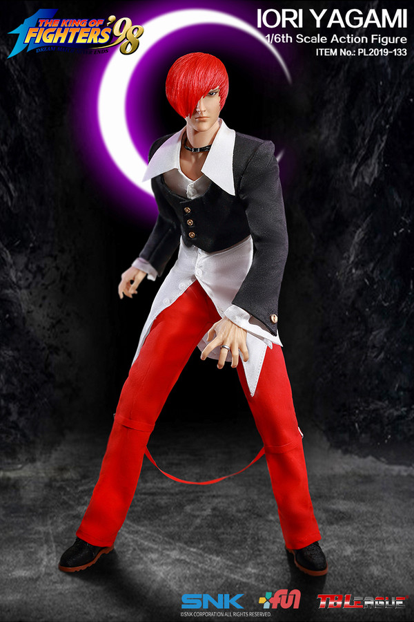 "Stylized - NEW PRODUCT: TBLeague: 1/6 ""King of Fighters KOF 98"" - IORI YAGAMI / Eight Gods (#PL2019-133) 19104010"