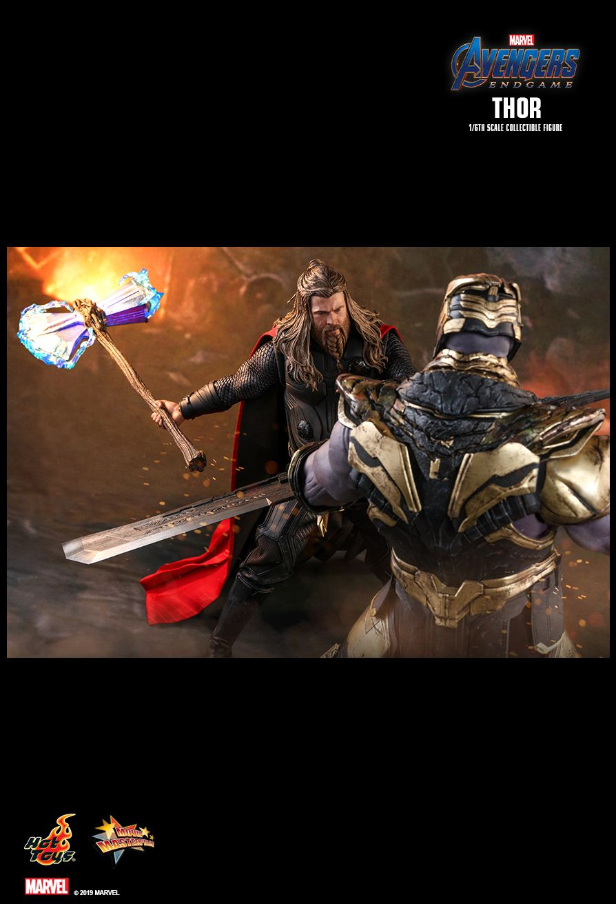 male - NEW PRODUCT: HOT TOYS: AVENGERS: ENDGAME THOR 1/6TH SCALE COLLECTIBLE FIGURE 19109