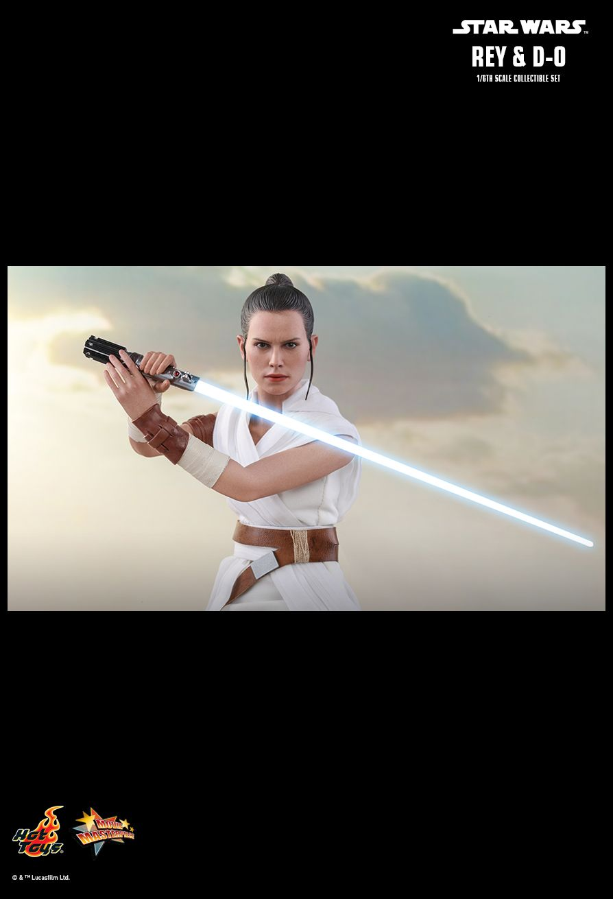 Rey - NEW PRODUCT: HOT TOYS: STAR WARS: THE RISE OF SKYWALKER REY AND D-O 1/6TH SCALE COLLECTIBLE FIGURE 19113