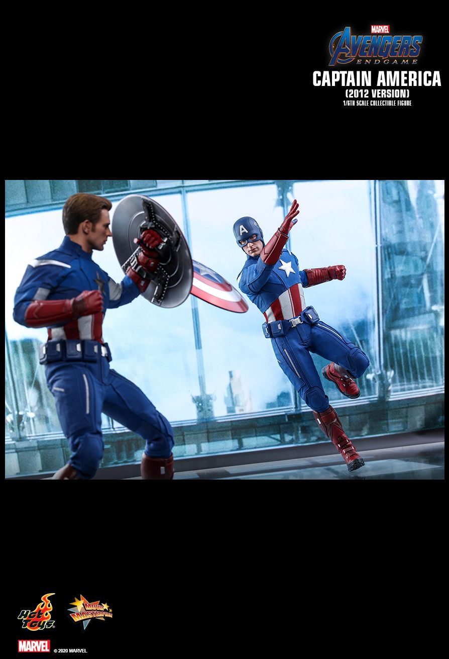 movie - NEW PRODUCT: HOT TOYS: AVENGERS: ENDGAME CAPTAIN AMERICA (2012 VERSION) 1/6TH SCALE COLLECTIBLE FIGURE 19121