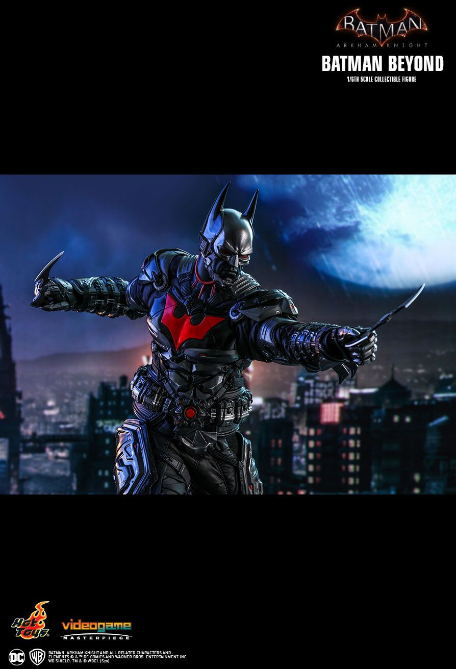 BatmanBeyond - NEW PRODUCT: HOT TOYS: BATMAN: ARKHAM KNIGHT BATMAN BEYOND 1/6TH SCALE COLLECTIBLE FIGURE 19126