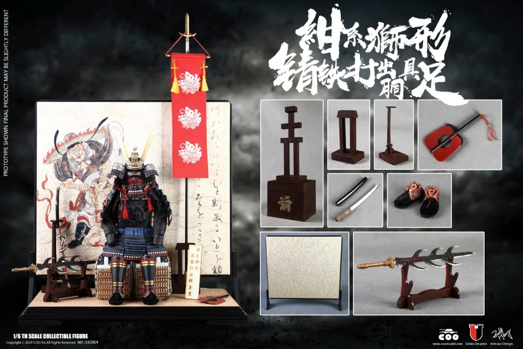 japanese - NEW PRODUCT: COOMODEL: 1/6 Empire Series Legendary Edition-Jin Xiaozha's Yellow Wife Takes Big Armor & 狮 Series Lion-shaped 锖 Iron Hit 19132810