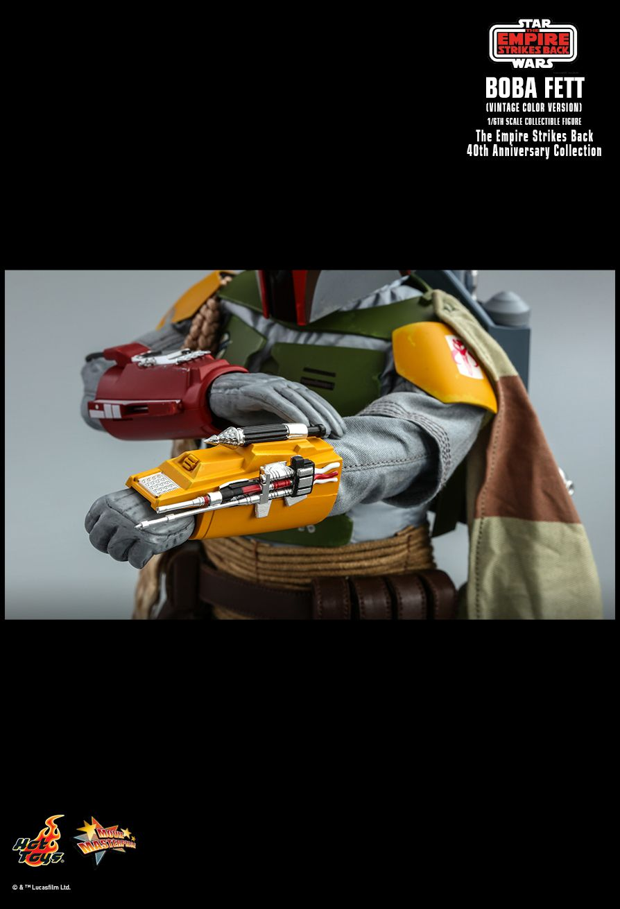 sci-fi - NEW PRODUCT: HOT TOYS: STAR WARS: THE EMPIRE STRIKES BACK™ BOBA FETT™ (VINTAGE COLOR VERSION) (40TH ANNIVERSARY COLLECTION) 1/6TH SCALE COLLECTIBLE FIGURE 19138