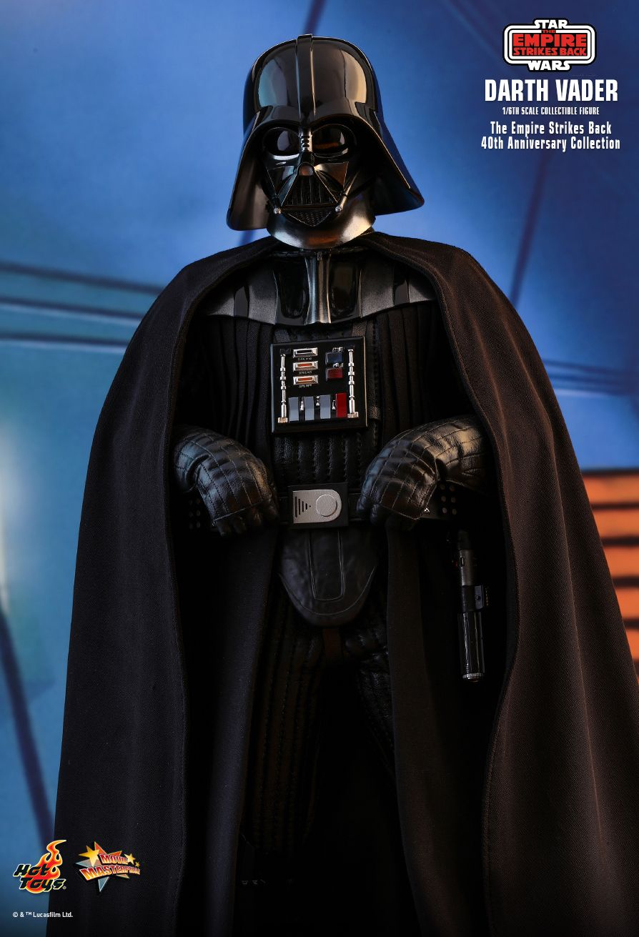 40thAnniversaryCollection - NEW PRODUCT: HOT TOYS: STAR WARS: THE EMPIRE STRIKES BACK™ DARTH VADER™ (40TH ANNIVERSARY COLLECTION) 1/6TH SCALE COLLECTIBLE FIGURE 19139