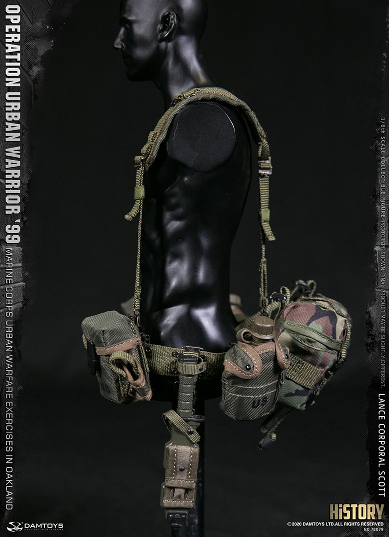 MarineCorps - NEW PRODUCT: DAMToys: 1/6 '99 City Warrior Operation-Marine Corps Oakland City Battle Exercise - Lance Corporal Scott #78079 19158