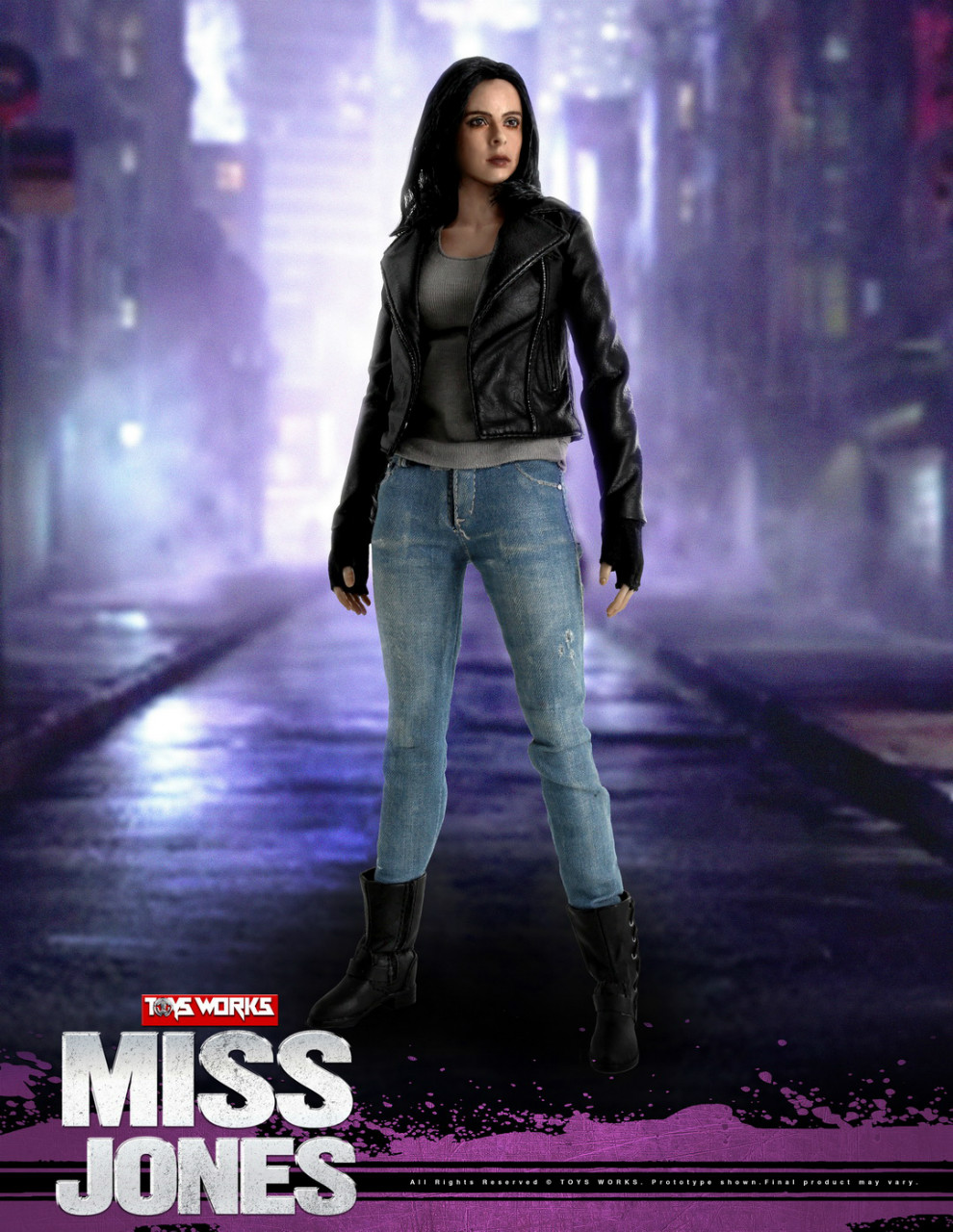 NEW PRODUCT: TOYS WORKS New: 1/6 Miss Jones Miss Jones can move TW007 19163611