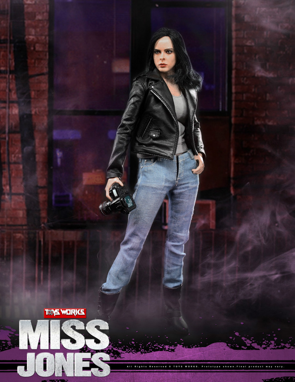 NEW PRODUCT: TOYS WORKS New: 1/6 Miss Jones Miss Jones can move TW007 19163613