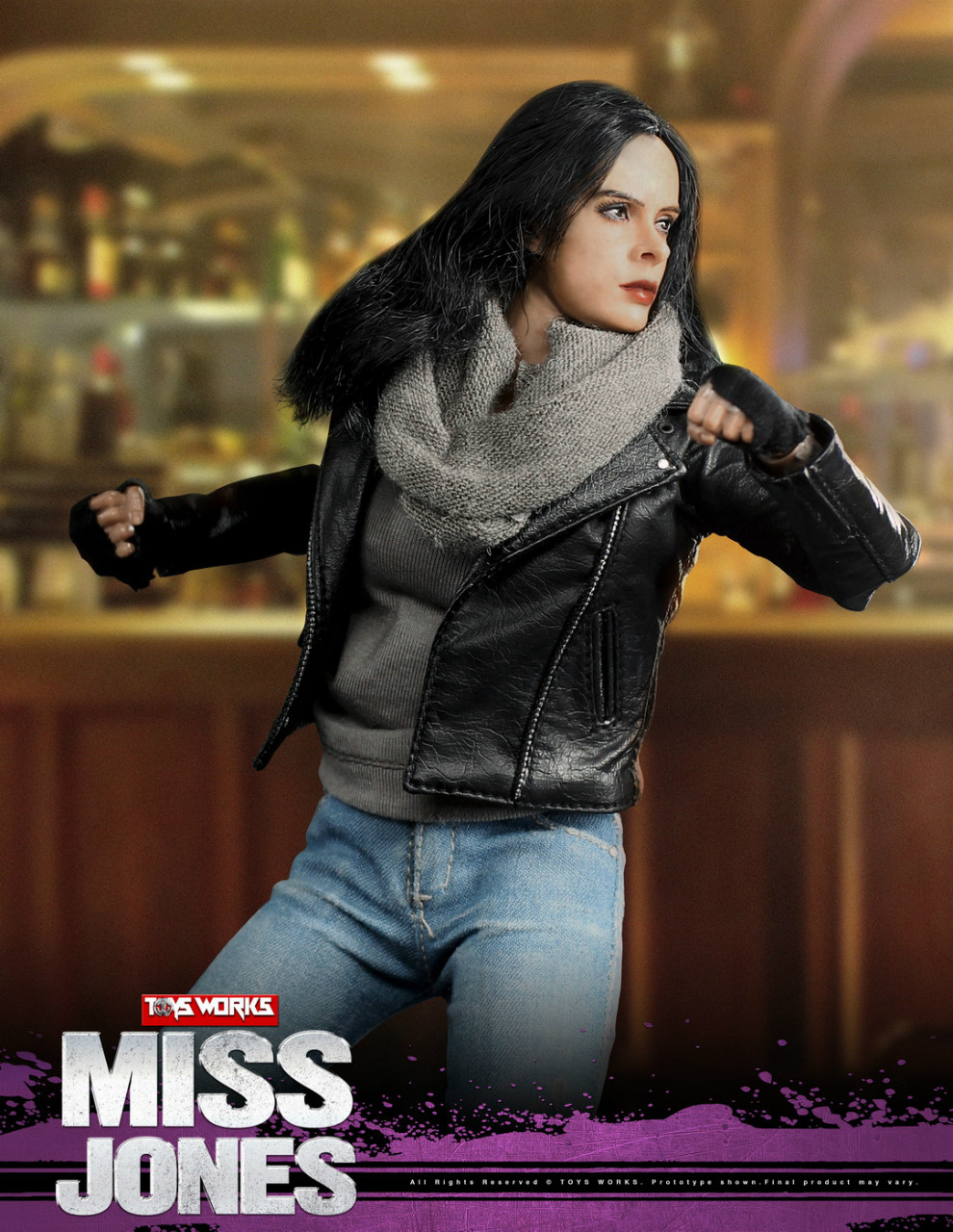 tv - NEW PRODUCT: TOYS WORKS New: 1/6 Miss Jones Miss Jones can move TW007 19163614