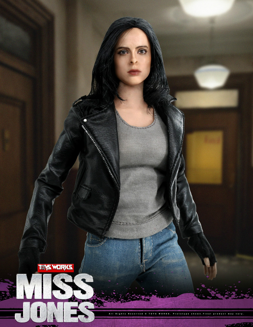 tv - NEW PRODUCT: TOYS WORKS New: 1/6 Miss Jones Miss Jones can move TW007 19163615